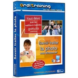 Orditraining - Savoir traiter la photo sous windows XP  CD-ROM