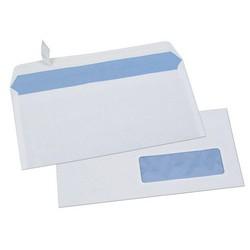 GPV Enveloppes, DL, 110 x 220 mm, 80 g/m2, avec fenêtre - lot de 500 pièces