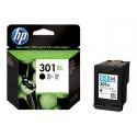 HP 301XL - À rendement élevé - noir - original - cartouche d'encre - pour Deskjet 10XX, 15XX, 2050A J510, 2054A J510, 25XX Envy