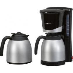 CLATRONIC Machine à café thermos KA 3328, noir / inox