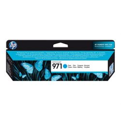 HP 971 - Cyan - original - cartouche d'encre - pour P/N: CN463AB1H, CV037AB1H