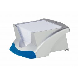DURABLE bloc mémo NOTE BOX VEGAS, argent/bleu