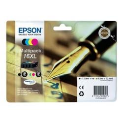 Epson 16XL Multipack - Pack de 4 - taille XL - noir, jaune, cyan, magenta