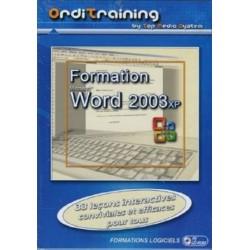 Orditraining - Formation Word 2003XP