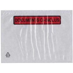 dm-films Pochettes porte documents, format 110 x 220 mm lot de 250