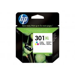 HP 301XL - À rendement élevé - couleur (cyan, magenta, jaune) - original - cartouche d'encre - pour Deskjet 1000, 1010, 1050 J41