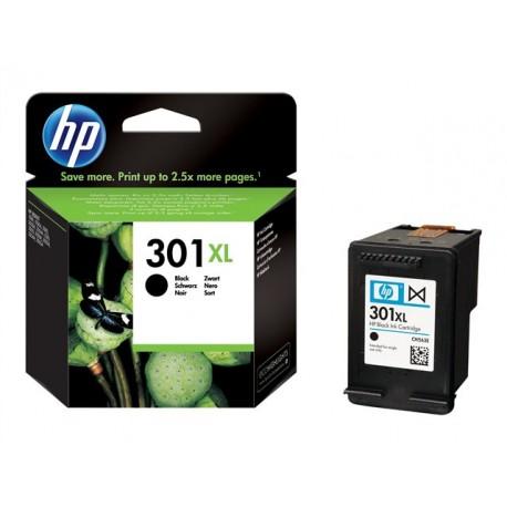 HP 301XL - À rendement élevé - noir - original - cartouche d'encre - pour Deskjet 10XX, 15XX, 2050A J510, 2054A J510, 25XX; Envy